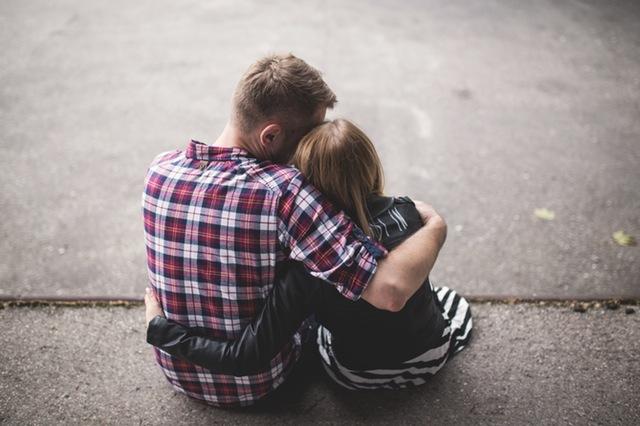 Счастливые отношения между парнем и девушкой