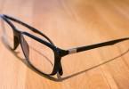 Красивые мужские очки с темной оправой