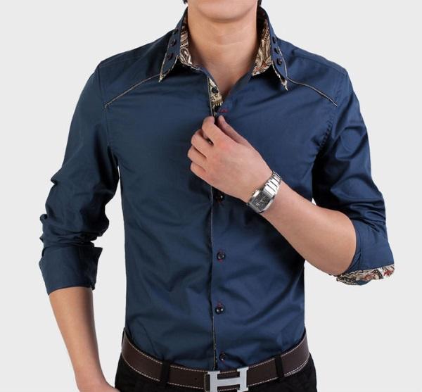 правильно заправленная рубашка