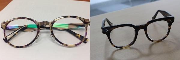 Подходящие очки для треугольного лица