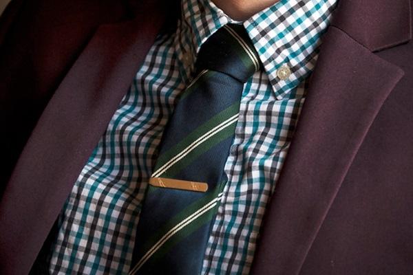 Выбор заколки для галстука