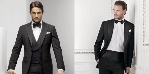Мужчины одетые в black tie