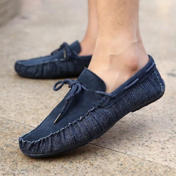мокасины на босу ногу