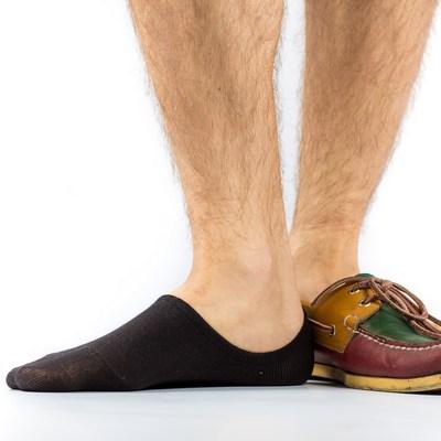 короткие носки под мокасины
