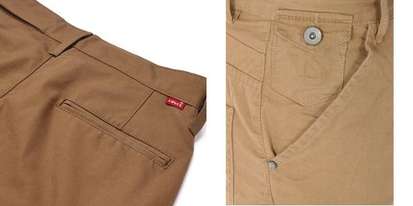Карманы брюк