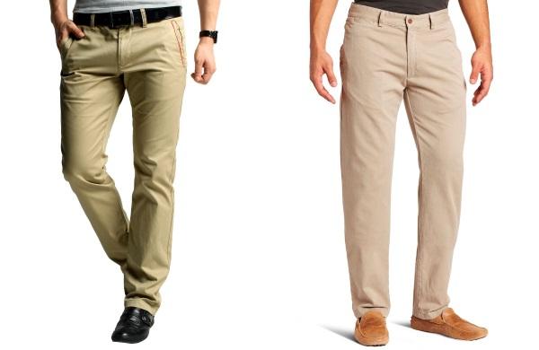 Мужские брюки слаксы
