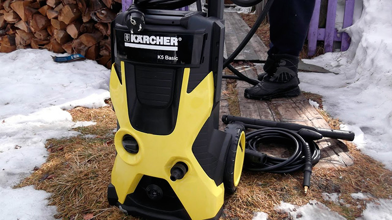 Автомойка Karcher K5 Basic