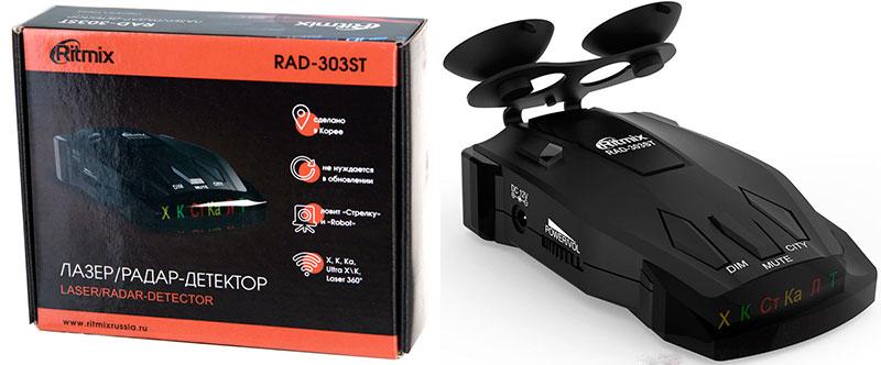 Автомобильный радар Ritmix RAD-303ST